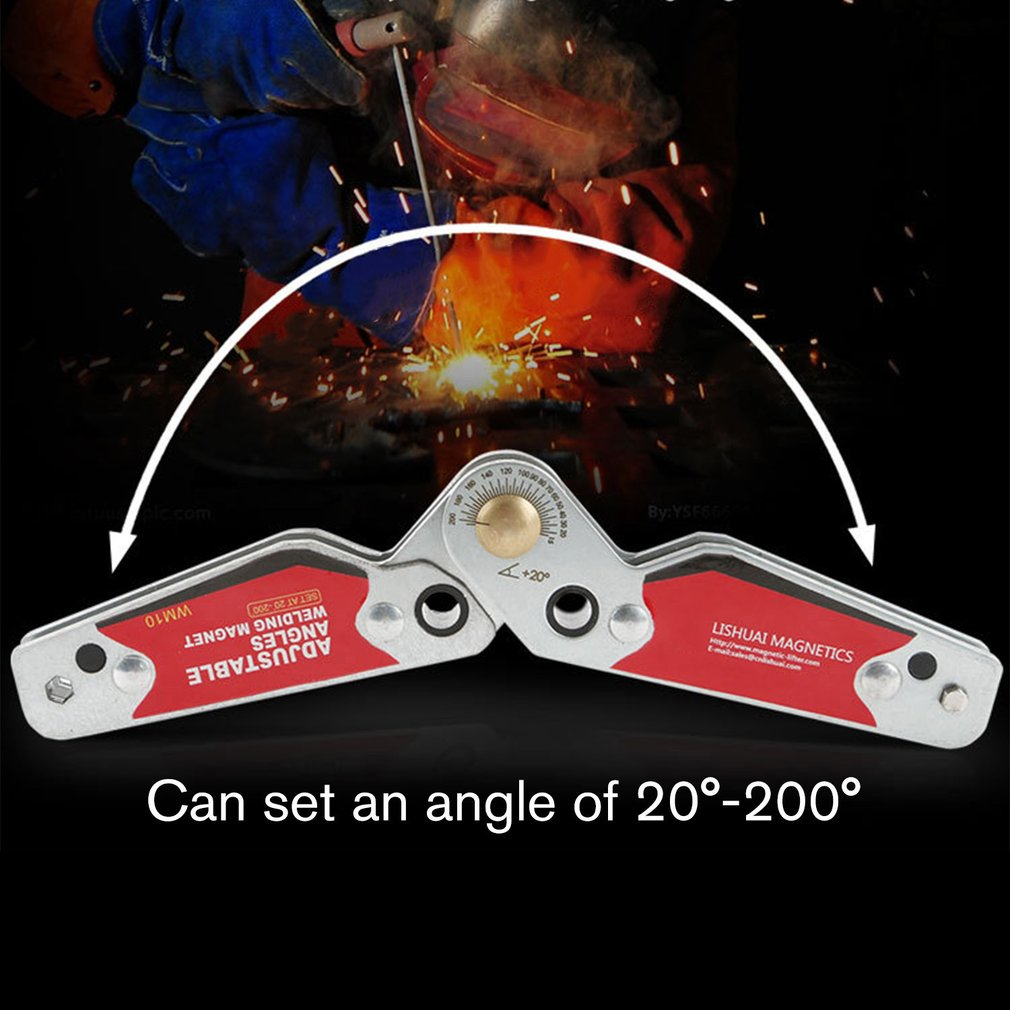 Magnetic Holder Fixator Corner Welding Magnets 20-200 Degree Adjustable Angles Magnetic Clamp Welding Holder WM10
