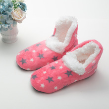 Slippers Floor-Socks Anti-Slip Warm Women Christmas-Gift Star-Pattern Thicken New Helisopus