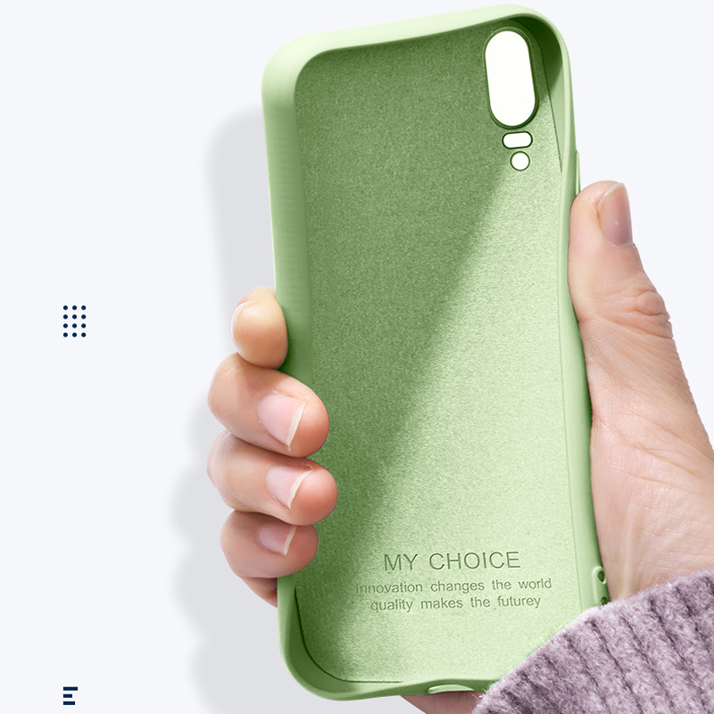Case For Liquid-Silicone-Cases Xiaomi Cc9e Original Back-Coque Note3 Redmi 8SE 9SE 6-6x