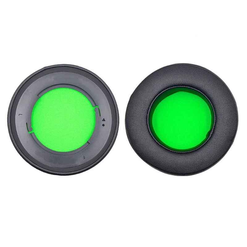 1 زوج الألعاب سماعة وسادة جولة رغوة شكل ل الماسح كراكن 7.1 برو V2 AXYF