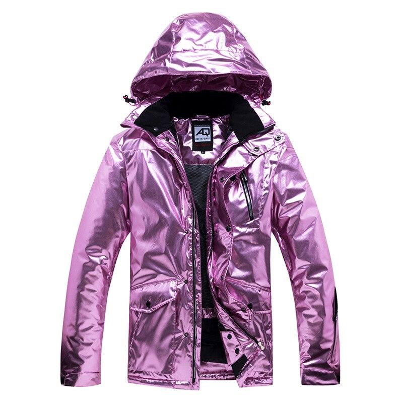 New Women's Warm Ski Jacket Windproof Waterproof Skiing And Snowboarding Jacket Female Outdoor Snow Costumes Coat Plus Size