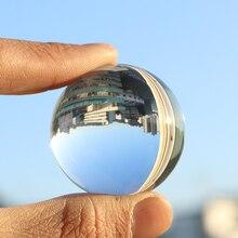 3/4/5 см фон для фотосъемки с украшением в виде кристаллов круглый бисер Feng Shui прозрачный Цвет Волшебные натуральные Стекло шары для дома Свадебные украшения