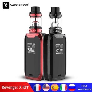 Арыгінальны Vaporesso Revenger X Mini Vape Kit 220W TC Box Mod з NRG рэзервуарам 5 мл Atomizer GT Core Coil Vapor электронная цыгарэта