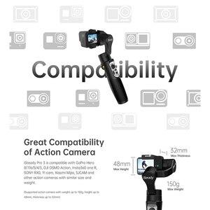 Image 3 - Hohem iSteady Pro 3 3 Axis el Gimbal DJI Osmo eylem kamera sabitleyici GoPro Hero 7/6/5/ Sony RX0 spor kamera