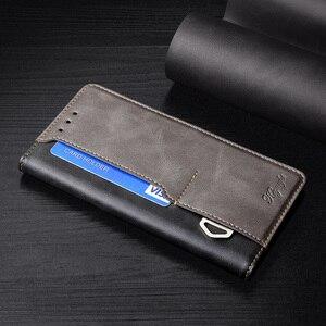 Image 2 - Zakelijke Lederen Magnetische Flip Case Voor Blackview S8 A80 Pro A7 Pro A60 Pro A60 Card Slot Telefoon Gevallen Cover funda Coque