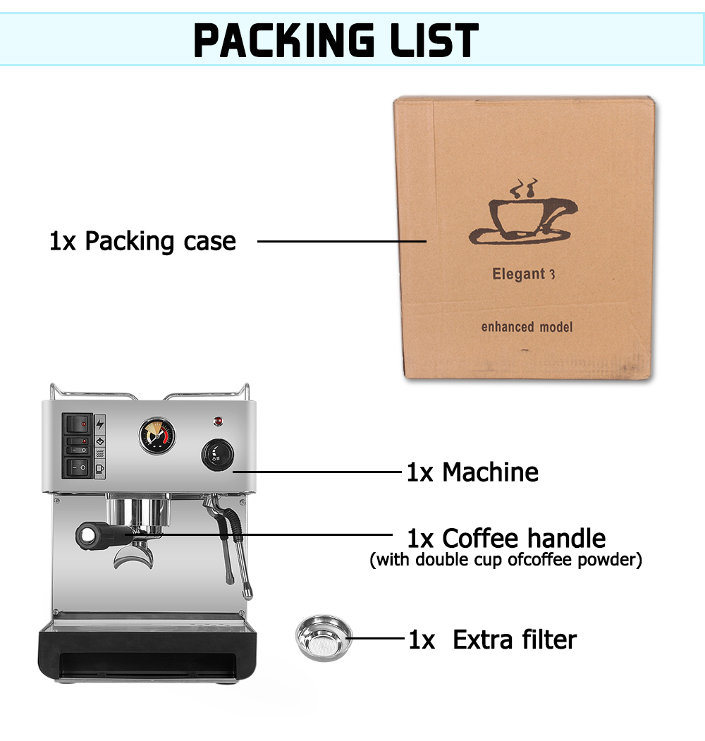 LL-18 coffee machine for home use_09