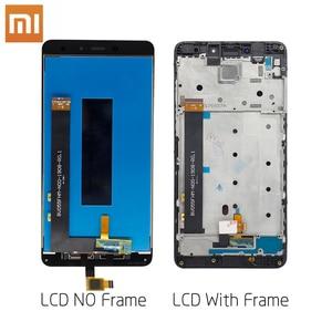 Image 2 - Xiao mi lcd TOUCH Screen Met frame Originele Display Voor Xiao Mi rode mi Note 4X mtk Helio X20 4GB 5.5 inch Vervanging Lcd Displa