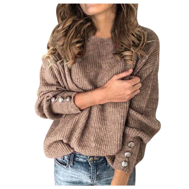 Fashion Autumn Winter Warm Solid Color High Collar Pullovers Knitted Sweater Women Wool Knitwear Clothing Plus Size S-5XL 5