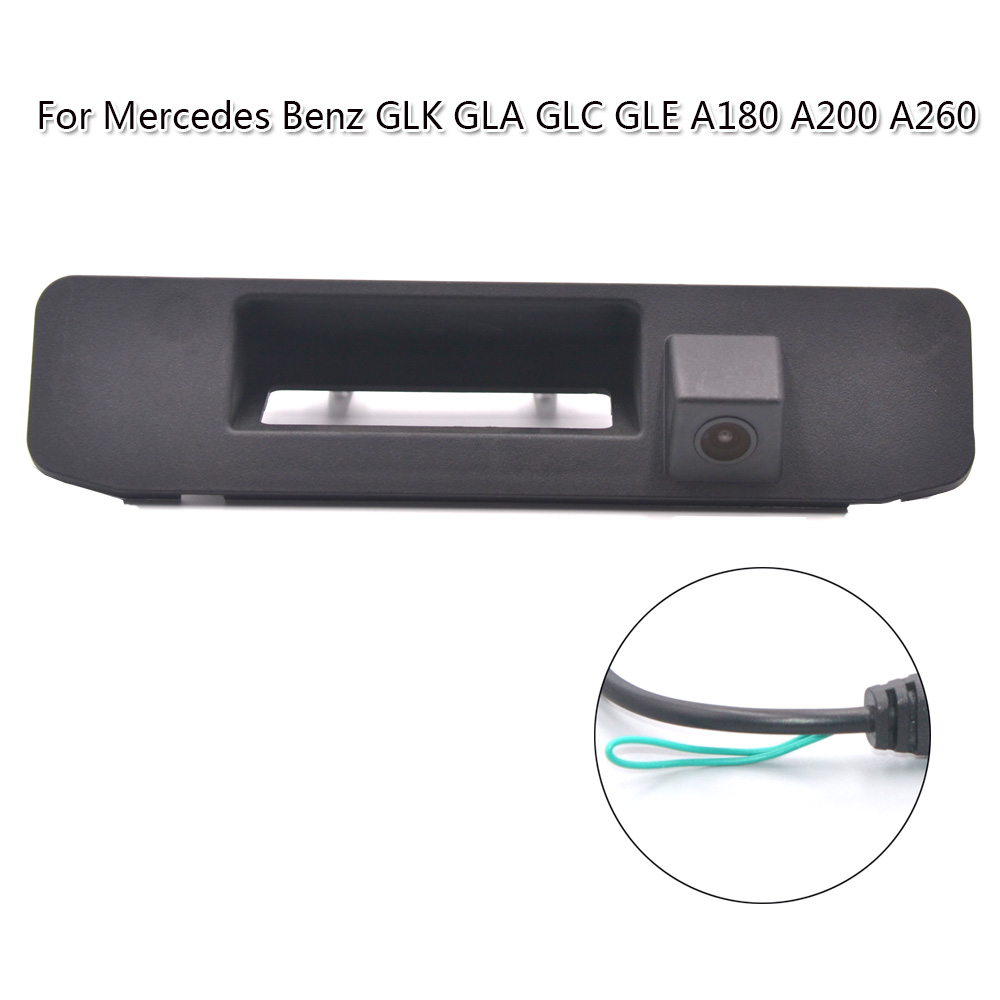 OTERLEEK Trunk Handle Car Back Up Camera For Mercedes Benz GLK GLA GLC GLE A180 A200 A260