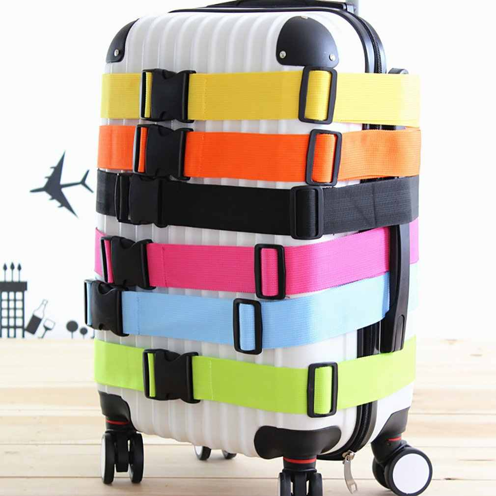 Bagaż podróżny pasek bezpieczeństwa walizka pakowanie regulowana torba bagażowa paski klamry