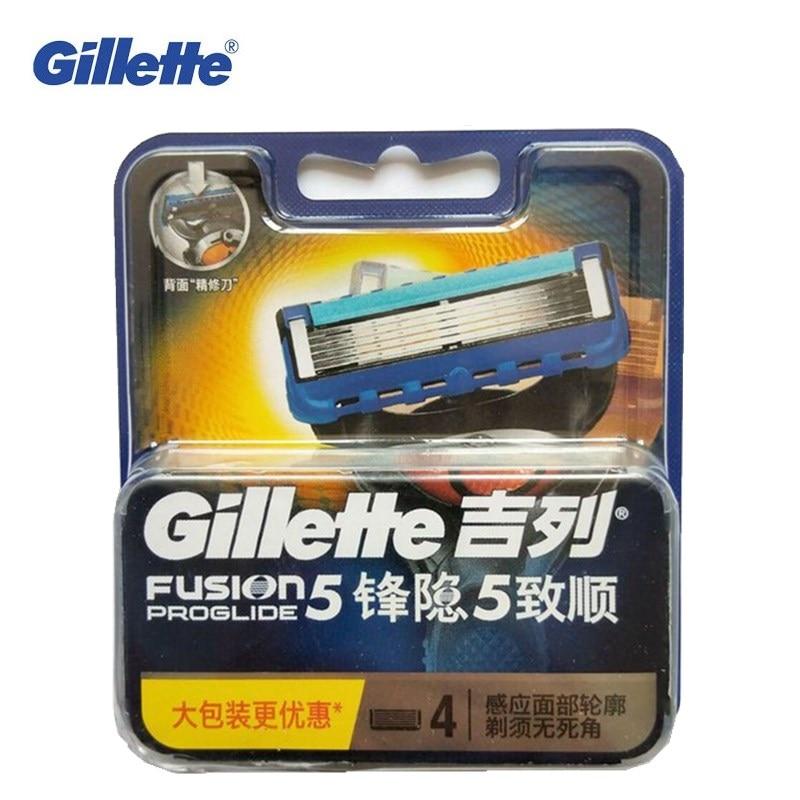Gillette Fusion PROGLIDE Razors Shaving Machine Washable Shavers For Men Brands Safety Razor Replacement Blade