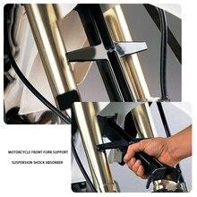 Accessorio per bici da cross Dirt supporto forcella anteriore sospensione ammortizzatore nero adatto per la maggior parte delle bici da corsa per adulti supporto forcella