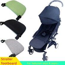 Baby Stroller Feet Extend Footboard For Babyzen Yoyo+ Yoya BabyTime Stroller Extend Footrest Pedal Baby Stroller Accessories