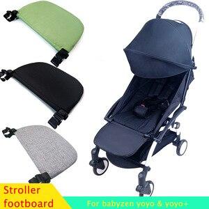 Image 1 - 아기 유모차 발은 Babyzen Yoyo + Yoya BabyTime 유모차를위한 footboard를 확장한다 Footrest Pedal 아기 유모차 부속품