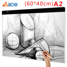 A2 планшет для рисования светодиодный цифровой графикой светильник