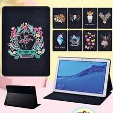 Cartoon Tablet Case for Huawei MediaPad MediaPad T5 10 10.1