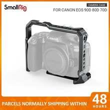 Клетка для камеры smallrig canon eos 90d 80d 70d dslr cage с