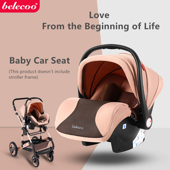 Belecoo Baby Car Safety Seat Infant Baby Cradle Car Seat Infant Carrier Multifunctional Infant Car Seat Baby Comfort Carrier 2018 new arrival baby car seat baby safety car seat children s chairs in the car updated version thickening kids car seats