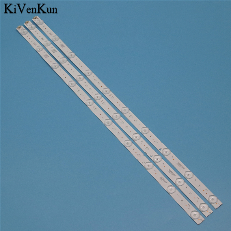 TV Lamps LED Backlight Strips For MYSTERY MTV-3231LW Bars Kit LED Bands LED315D10-07(B) 30331510219 LED315D10-ZC14-07(A) Rulers
