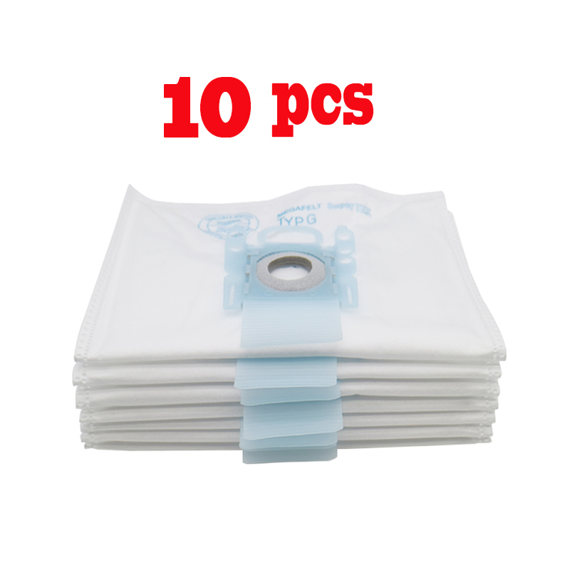 10 PCS Vacuum Cleaner Dust Bag Replacement For Bosch Microfibre Type G GXXL GXL MegaAir SuperTex BBZ41FGXXL Nonoriginal