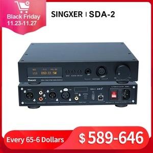 Image 1 - Singxer SDA 2 デコードオーディオデコーダヘッドフォンアンプ DSD512 AK4497EQ DAC Hifi プロフェッショナルアンプ