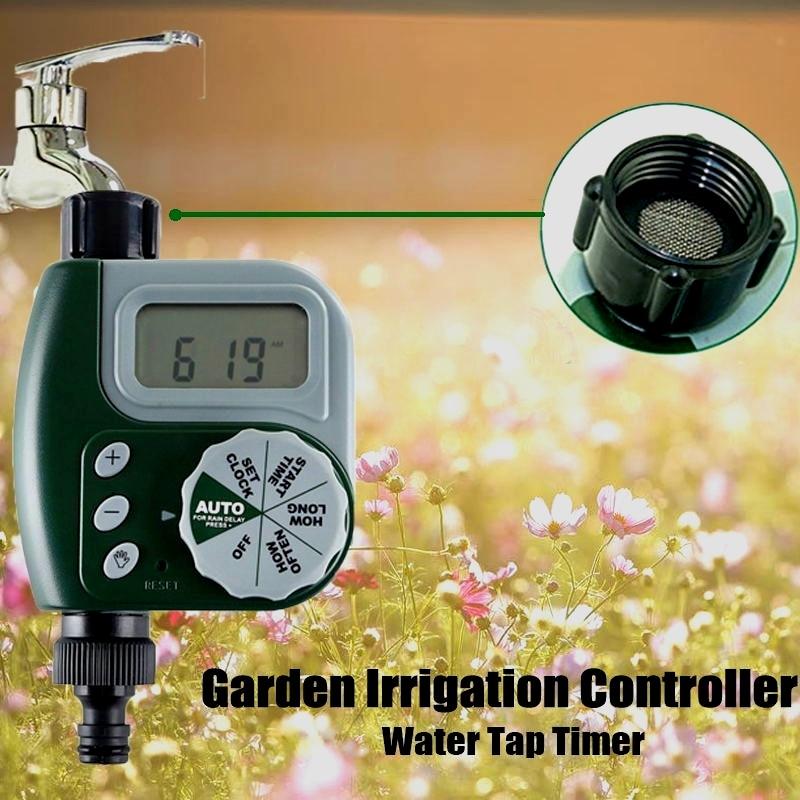 Water Tap Timer Orbit Electronic Water Tap Timing DIY Garden Irrigation Controller Solenoid Valve Timer Unit Digital LCD