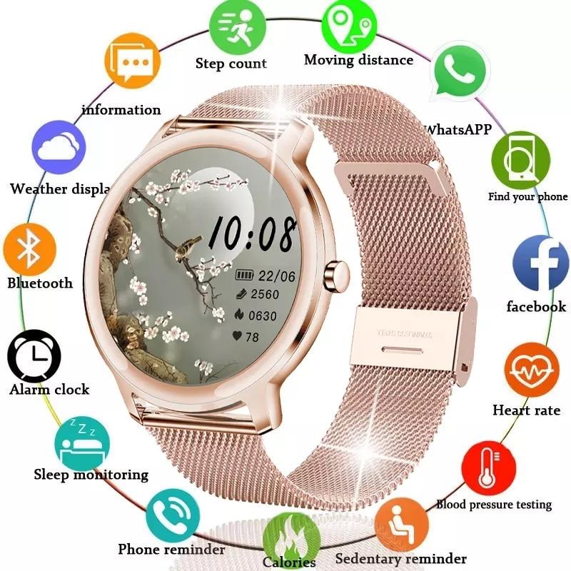 Lige 2021 novo relógio inteligente mulher homem atividade rastreador de freqüência cardíaca sphygmomanômetro à prova dwaterproof água esportes smartwatch para xiaomi
