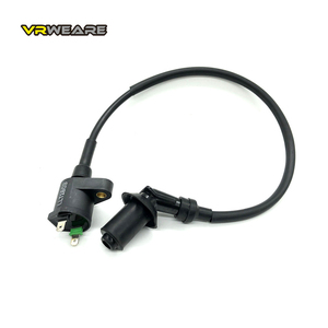 GY6 Motorcycle Ignition Coil Motorcycle High Pressure coil For GY6-50 GY6 50CC 125CC 150CC Engines Moped Scooter ATV Quad Black(China)