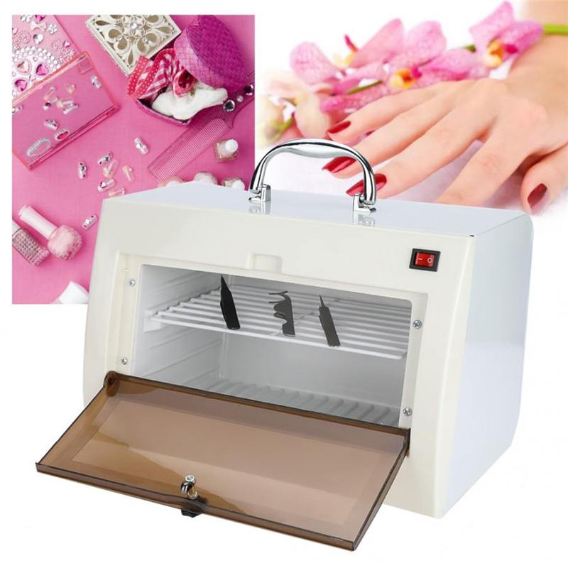 240V Professional Sterilizer Nail Tools UV Nail Disinfection Cabinet Manicure Tools Nail Electric Equipment Therapy