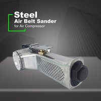 Air Belt Sander Angle Grinder Air Angle Grinding Machine with Sanding Belts for Air Compressor Sanding Pneumatic Tool Set