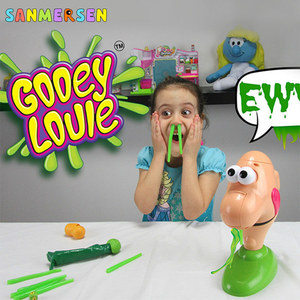 Kid Funny Gooey Louie Game Sentimental Real Louis Party Snot Insect Desktop Tricky Novelty Party Toys Kids Children Gifts(China)