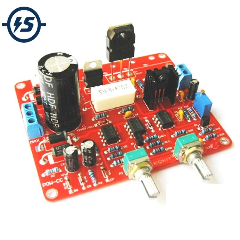 DIY Kit Voltage Regular Power Supply Module AC 15-24V To DC 0-30V 2mA-3A Regulated AC-DC DIY Adjustable Power Supply DC CVCC