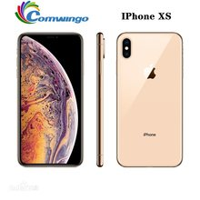 Original desbloqueado apple iphone xs 4g lte 4g ram 64gb/256gb rom a12 bionic chip ios12