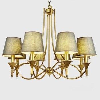 現代シャンデリア、モダンなアメリカンスタイルのダイニングルーム照明器具ペンダントランプ寝室用リビング装飾