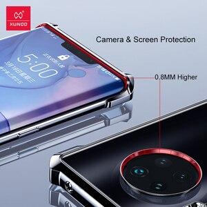 Image 3 - XUNDD odporny na wstrząsy futerał do Huawei Mate30 Pro ochronna poduszka powietrzna zderzak pokrywa Shell szklany obiektyw Film dla Huawei Mate 30 Pro przypadku