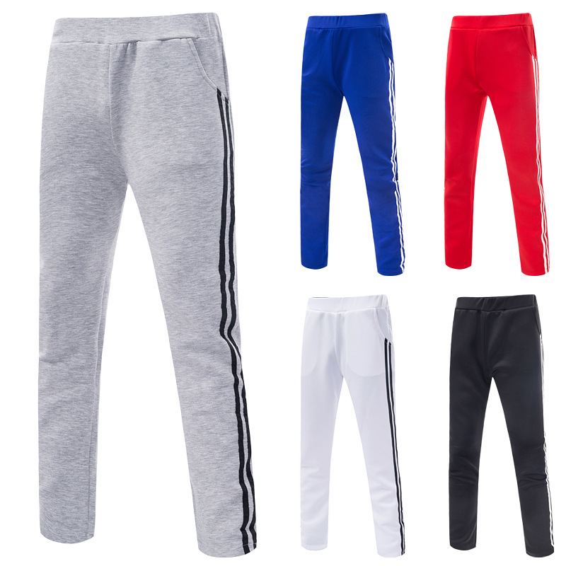 AliExpress Korean-style MEN'S Sports Pants Hit Article Decoration Slim Fit Athletic Pants