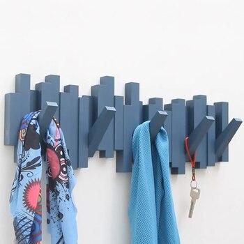 Creative decoration wall hanging coat hanger clothes hook mounting rack nordic hook key door room decoration hanging wall decor