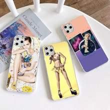 American singer miley cyrus caso de telefone para iphone 12 pro max 11 pro xs max 8 7 6s plus x 5S se 2020 xr capa