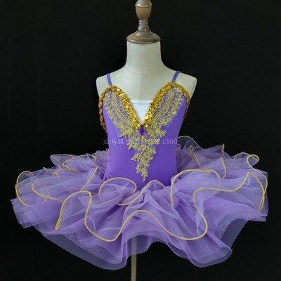 Г. Детское балетное платье Пушистый костюм платье принцессы платье для танцев с изображением маленького лебедя платье для выступлений для девочек, Costumeflower, платья для девочек - Цвет: violet