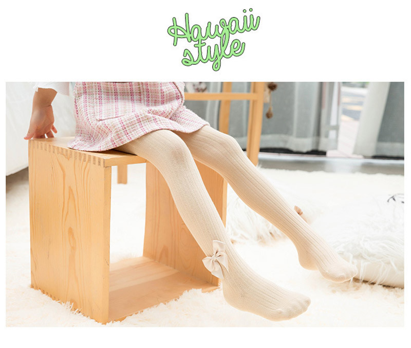 Cute Tights For Baby Girls Spring Summer Candy Color Children Pantyhose Ribbed Stockings Cotton Knitted Baby Girl Tights Kids 6