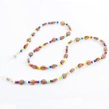 Venta al por mayor, 20 piezas, coloridos, a la moda, cordón de cadena para gafas, soporte de sujetadores para el cuello