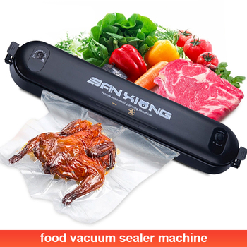 Household Electric Vacuum Sealer Packaging Machine for Home Kitchen Including 5pcs Food Saver Bag Commercial Vacuum Food Sealing home vacuum sealer automatic electric vacuum food sealer packaging machine 220v 110v electric kitchen vacuums sealing machine