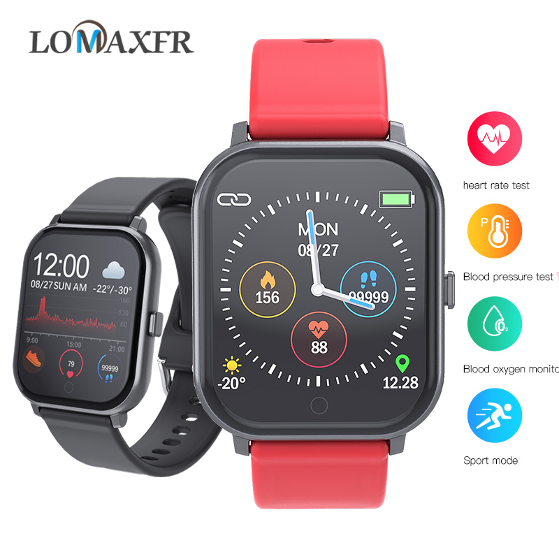 Women smart Watch Android Ios Watches Sport Waterproof Fitness Bracelet running Wristband Men <font><b>SmartWatch</b></font> for iphone pk <font><b>P70</b></font> B57 image