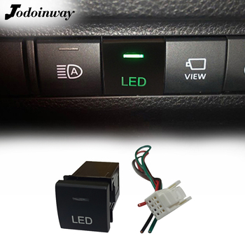 For Toyota Camry Corolla RAV4 2018 2019 2020 LED Light Button Switch For Land Cruiser Prado 150 Series Altis 2020 image