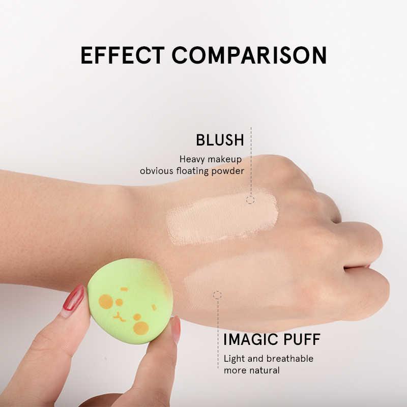 IMAGIC Puff maquillaje esponja belleza Base líquida Facial herramientas de maquillaje profesional maquillaje esponja Puff