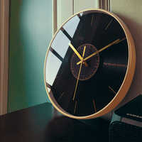 Silent Modern Wall Clock Nordic Living Room Luxury Simple Gold Wall Watch Kitchen Creative Reloj De Pared Home Decor ZB5WC
