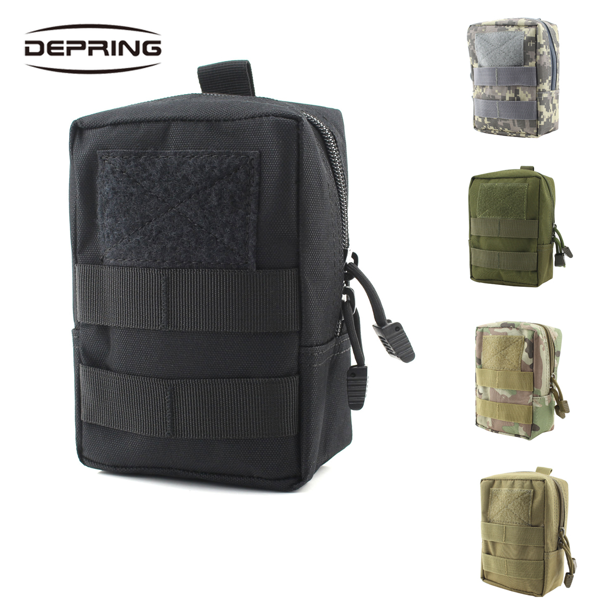 600D Nylon Tactical Molle Waist Bag Utility Magazine Pouch Medic Pouch Pack For Hunting Hiking Camping Accessories 5 Color