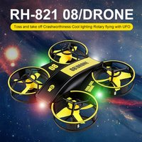 RH821 Mini RC Drohne Headless Drohnen Mini RC Quadrocopter One Key Land Auto Schwebt 3 Batterien Hubschrauber Flysky Kinder Spielzeug geschenk