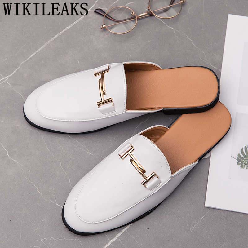 Zapatos de cuero negros para hombre, zapatos informales para hombre, zapatos de moda para hombre, zapato social masculino, mocasín para hombre, chaussure 2019