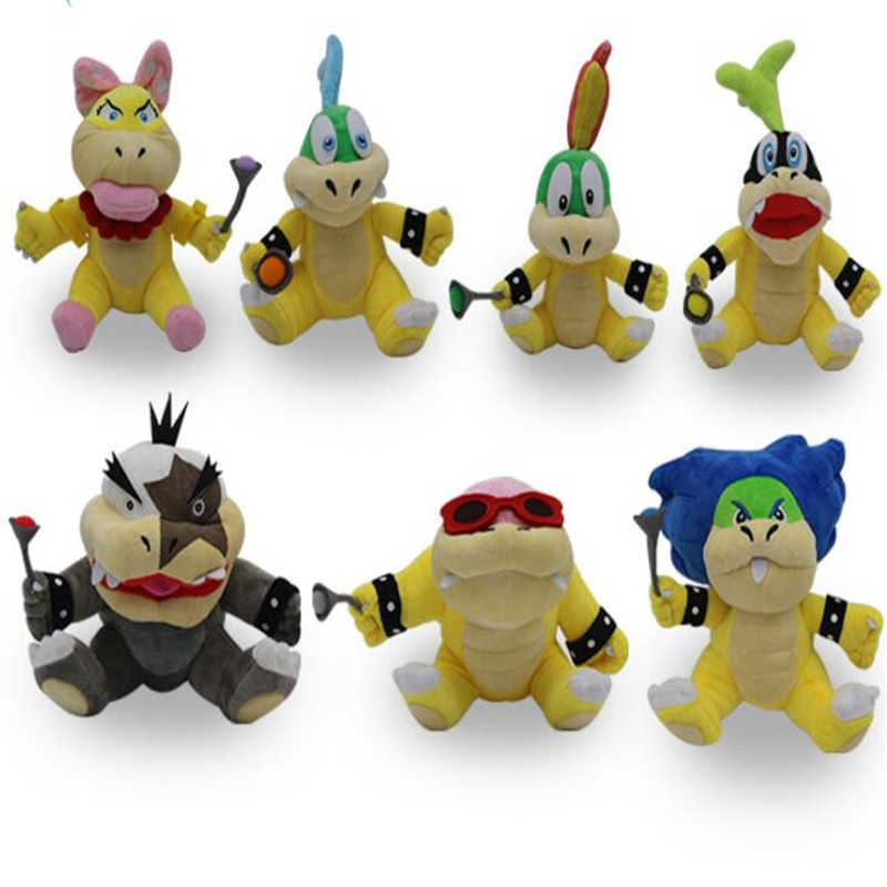 Tv Movie Character Toys New 7pcs Set Super Mario Bros Cute Bowser Soft Plush Doll Stuffed Toy 5 7 Qq Woodland Resort Com